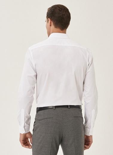 Altınyıldız Classics Tailored Slim Fit Klasik Gömlek 4A2000000006 Beyaz